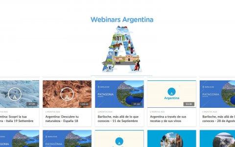 Argentina expone propuestas turísticas online a mercados internacionales