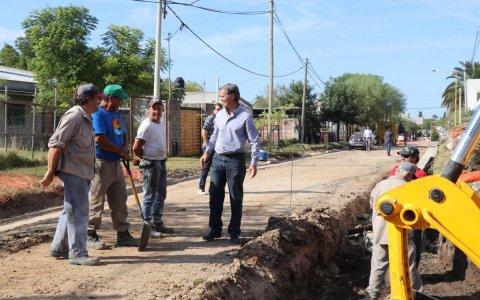La municipalidad pavimentó 100 cuadras en 2019
