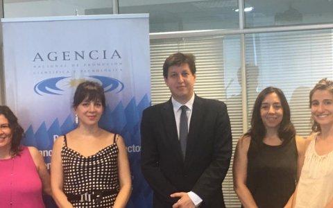 El compromiso con la perspectiva de género: Peirano recibió a la directora nacional de economía y género
