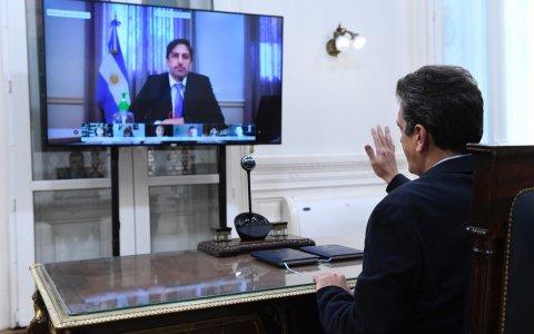 Primera reunión de comisión virtual en Diputados