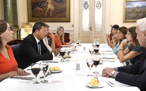 Legisladores recibieron a la Ministra Frederic para avanzar en un Consejo de Seguridad