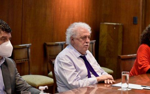 Etiquetado frontal: González García recibió a integrantes de la Copal