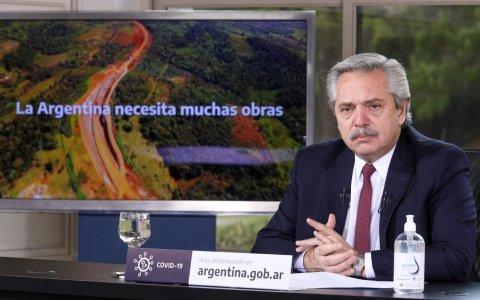 El Presidente anunció obras para Buenos Aires, Entre Ríos, Corrientes, San Juan y Santa Cruz