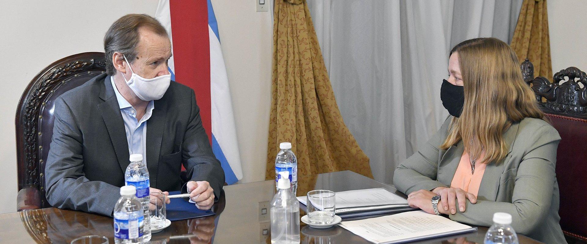 Bordet recibió a la Intendenta de Gualeguay para retomar gestiones iniciadas por Bogdan