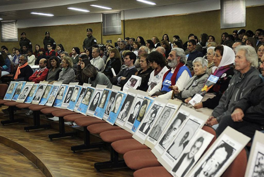 Los juicios como Política de Estado: En el mes de diciembre, la Secretaría de Derechos Humanos se presentó como querellante en tres causas